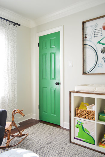 A Colorful Door More Nursery Art Young House Love
