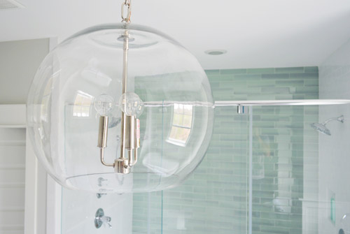 Glass chandelier globes thejots our showhouse young house love lighting ideas aloadofball
