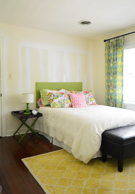 It s a color we ve loved for a while now  it was one of our whole house  color palette guesses from last year  and we thought the guest room. One Of Our Favorite Bedroom Paint Colors   Young House Love