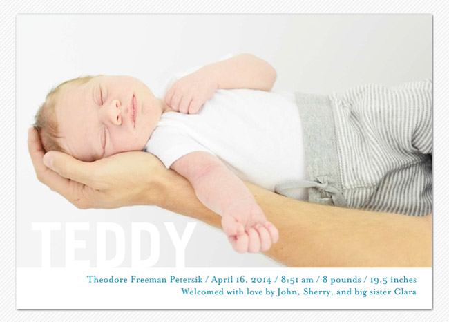 Our DIY Newborn Photos – Diy Baby Announcement