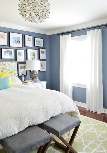 what curtains go with blue walls | My Web Value