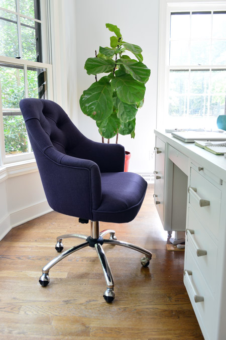 beautiful chair desk chairs duck egg navy leather baby on office newegg blue light decor e mesh white