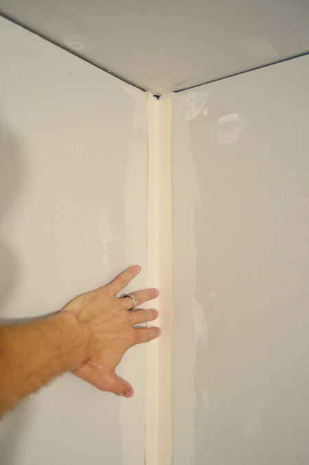 Best Drywall Tape : How to tape mud and sand drywall young house love