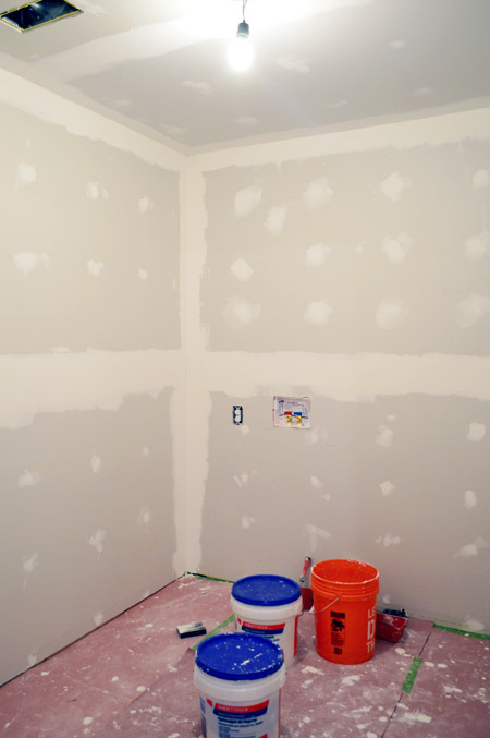 How To Tape Mud And Sand Drywall Young House Love