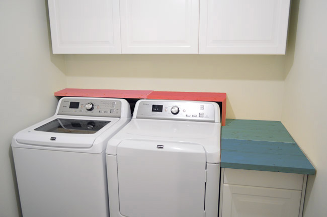 chasing waterfalls our homemade laundry room counter young house love. Black Bedroom Furniture Sets. Home Design Ideas