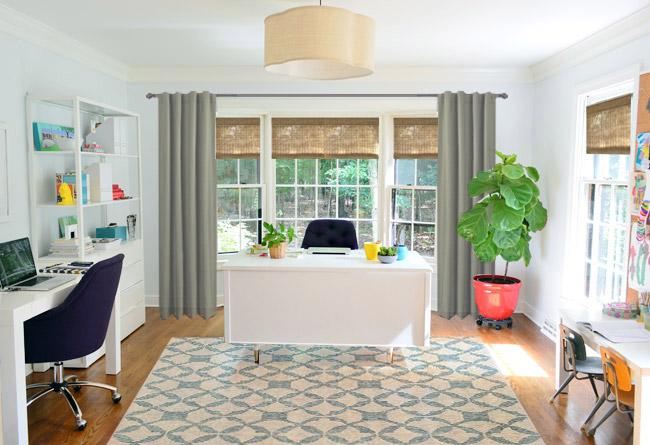 Curtains Ideas curtains blinds shades : A Little Curtain Fashion Show | Young House Love