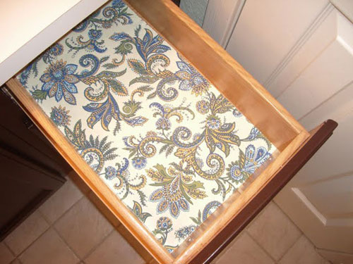 patterned shelf liner 2