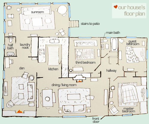 What S The Floor Plan Stan Young House Love