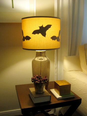 And The Funny Thing Is That When Lights Are Off Our Linen Shades Make Bats Completely Invisible So They Look Pretty Run Of Mill