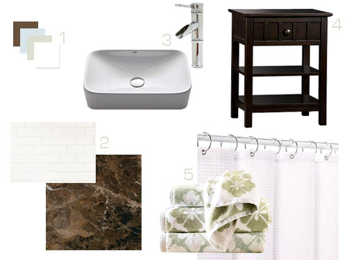 How To Turn A Side Table Into A Bathroom Vanity Young House Love