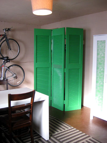 We Love The Hy Burst Of Emerald Green That It Brings To E Complements Paper Behind Armoire Doors Large Tupperware Bins