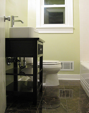 e2f34724ce8 How To Turn A Side Table Into A Bathroom Vanity