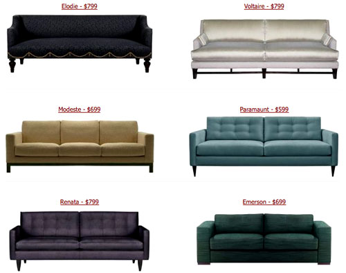 Couches From Custom Sofa Design