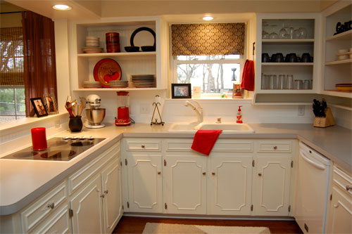 And Here Are The After Photos Of Her Amazingly Open Updated Kitchen Dining Area