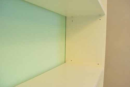 Making An Ikea Bookcase Look Built In (& Painting The Back)   Young