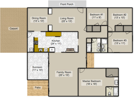The Floor Plan Stan Young House Love