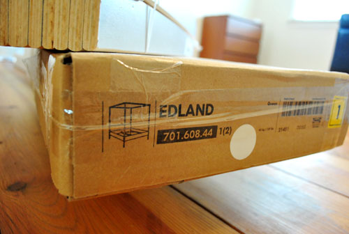 Mister Ed The Bed Assembling Our Edland Bed From Ikea