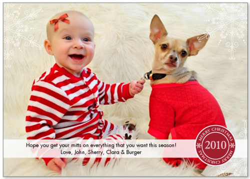 Dog And Baby Christmas Card Ideas Young House Love
