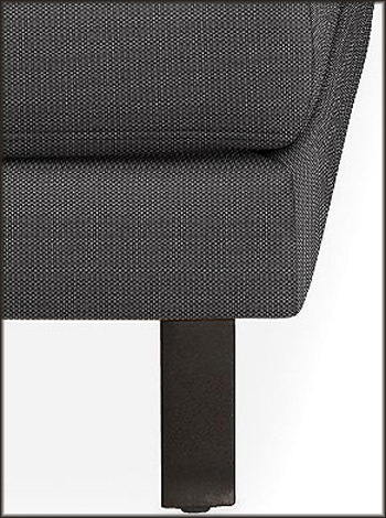 rendering of darkened legs of ikea sectional sofa