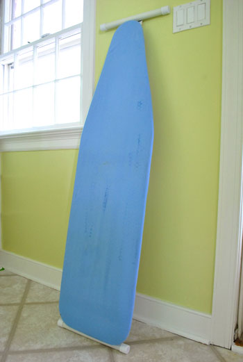 How To Hang Your Ironing Board On The Wall Easy Way