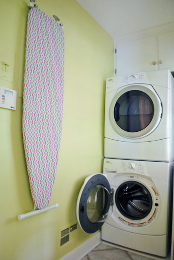 How To Hang Your Ironing Board On The Wall Easy Way Young House Love