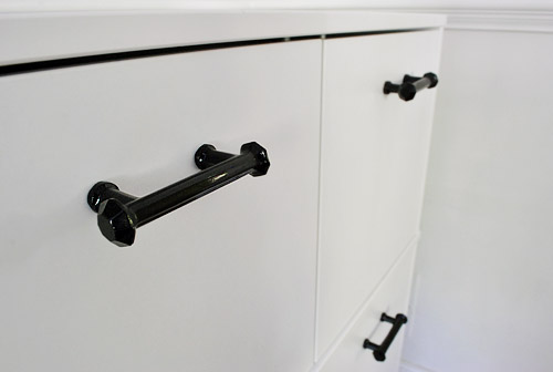 Adding Hardware To An Ikea Cabinet (And Hiding The Printer
