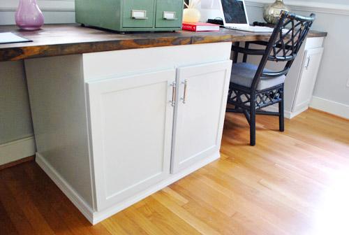 Adding Molding To Cabinets Make Them, Base Molding Around Kitchen Cabinets