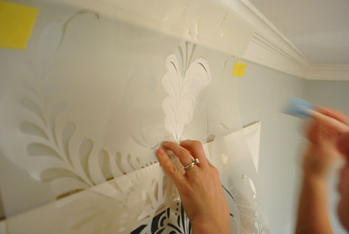 Ten Step By Step Wall Stenciling Tips You Can Do It Young House Love