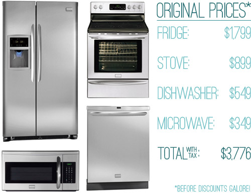 How We Saved Money (63% off!) On Our Kitchen Appliances ...