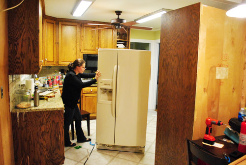 Shifting Cabinets And Appliances For A New Kitchen Layout