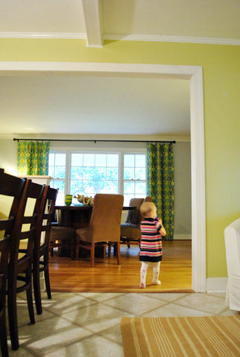 How To Trim Out A Cased Opening And A Half Wall Young House Love