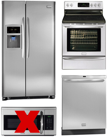 How To Hide A Microwave (Building It Into A Vented Cabinet ... Ideas For Kitchen Hidden Microwave on kitchen hidden sink, kitchen hidden storage, kitchen hidden pantry,