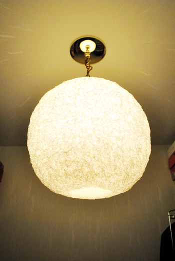 how to install a hanging light fixture with a chain