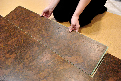can you put cork flooring in a bathroom how to install a floating cork floor house 26334