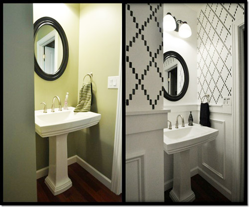 Reader Redesign: Ka-Powder Room | Young House Love