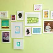 Assembling A Nursery Art Wall