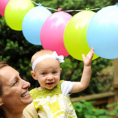 Making Balloon Garlands