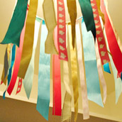 Creating A Ribbon Chandelier