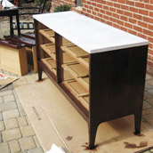 Refinishing A Changing Table