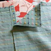 Making A No-Sew Crib Skirt