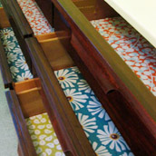 Lining Drawers With Paper