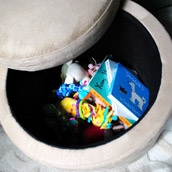 Taming Baby Clutter