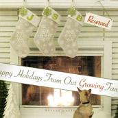 Saying Happy Holidays