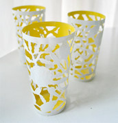 Two-Toning Thrifted Cups