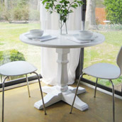 Creating A Pedestal Table