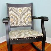 Nailheading A Rocking Chair