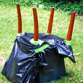Spray Painting Chair legs