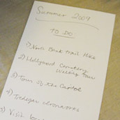 Making A Couples To-Do List