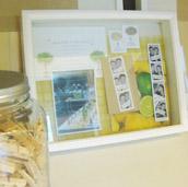 Displaying Wedding Mementos