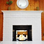 Painting Another Brick Fireplace